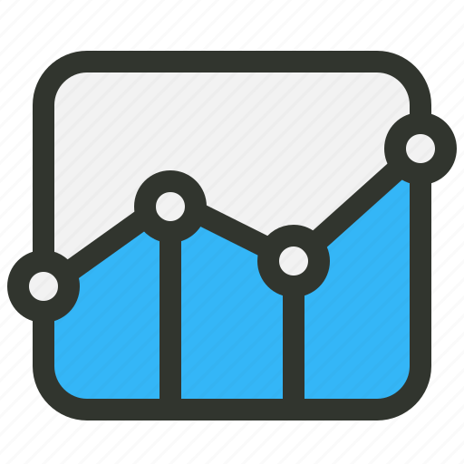 analytics, graph, statistics icon