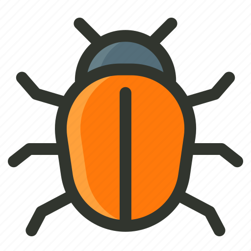 bug, error, problem, program icon
