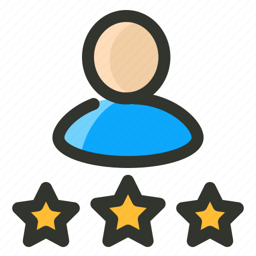 client, customer, rating, testimonial icon
