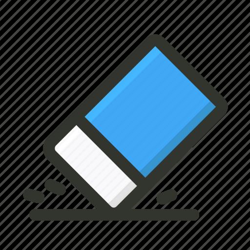clean, erase, eraser, remove icon
