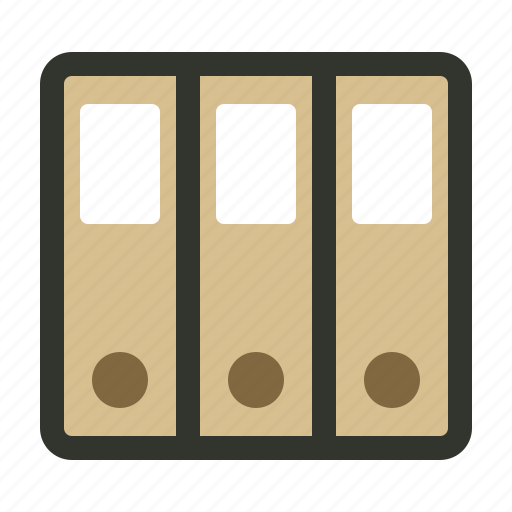 archives, documents, file, folders icon