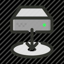 data, download, restore icon