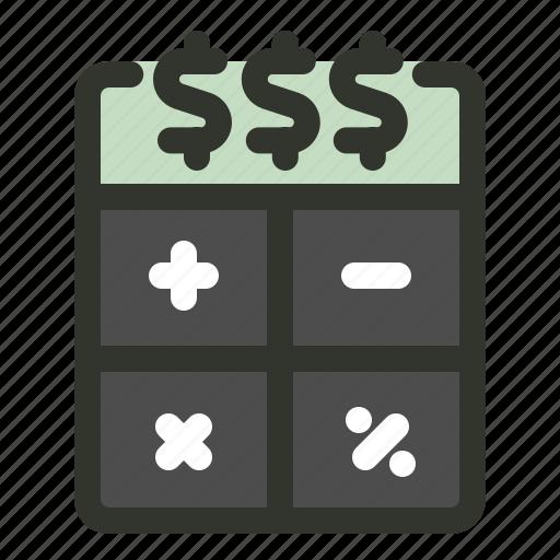 budget, calculator, sem, seo icon