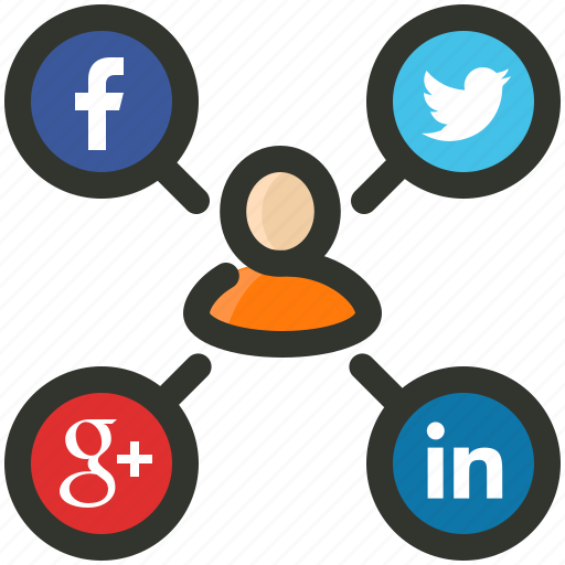 campaign, connection, sem, seo, social media icon