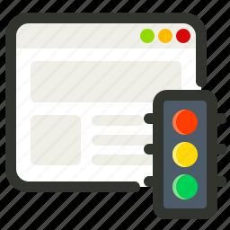 internet, seo, traffic, web icon