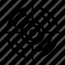 aim, goals, seo, target, web icon