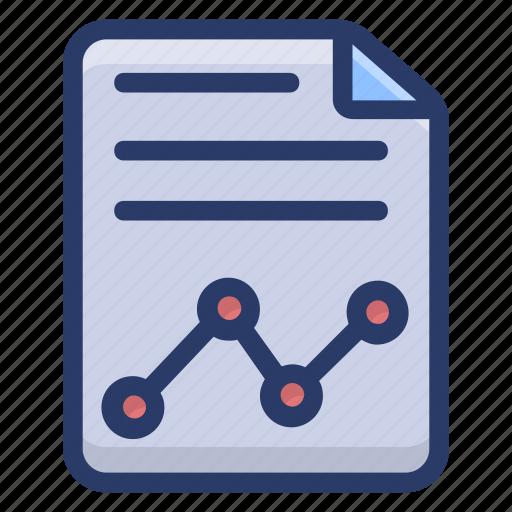 business chart, data analytics, infographic, statistics, trend chart icon