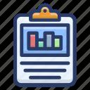 bar chart, business chart, data analytics, infographic, statistics icon