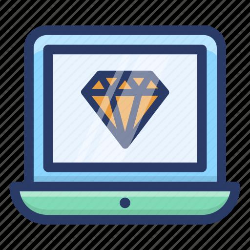 online web quality, premium website, web discount, web quality, website value icon