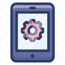 mob preference, mobile configuration, mobile maintenance, mobile setting, smartphone setting icon