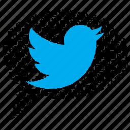 bird, bubble, internet, media, seo, spech, twitter icon