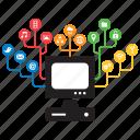 computer, concept, connectivity, desktop, internet, pc