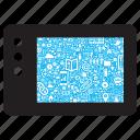 connection, connectivity, internet, ipad, media, tablet, web icon
