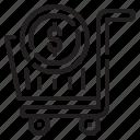 cart, coin, commerce, money, seo, shoppping, web icon