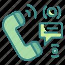 call, chat, phone, seo, talk, ui, web icon