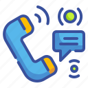 call, chat, phone, seo, talk, ui, web icon