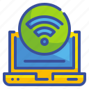 computer, network, seo, web, website, wifi, wireless icon