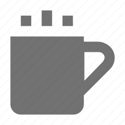 hot coffee, hot drink, hot tea, tea mug, teacup icon