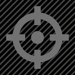 crosshair, dartboard, goal, target icon