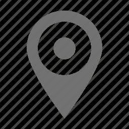 location marker, location pin, map locator, map pin icon