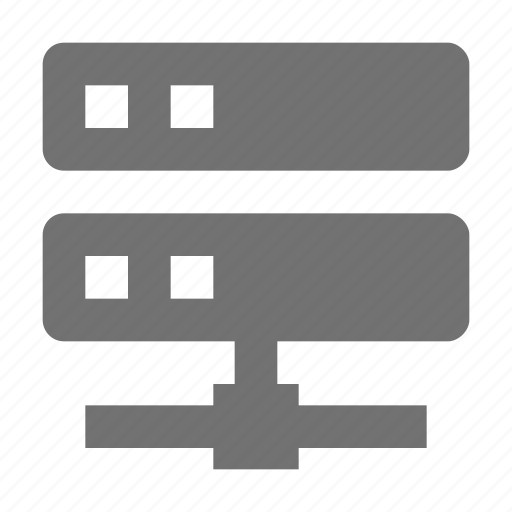 data share, data storage, network share, server, server share icon