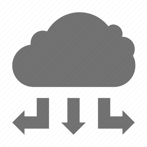 cloud computing, cloud hosting, cloud network, cloud networking, wireless technology icon