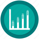 bar, bar chart, business, chart, dollar, graph icon