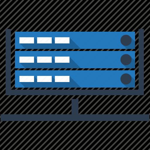 data, hosting, seo, seo cloud, seo data, server, web icon