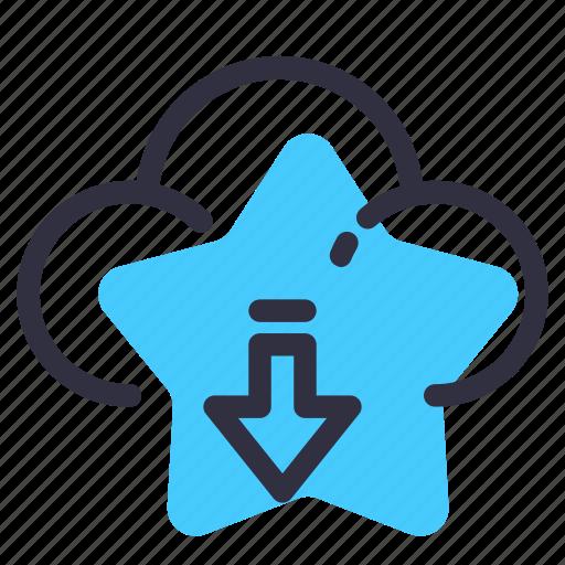 cloud, download, internet, net, online icon