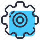 gears, net, optimization, seo, settings icon
