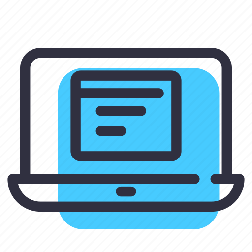internet, laptop, net, online, surface, website icon