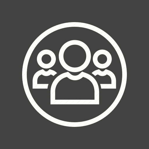 consultation, group, network, of, people icon