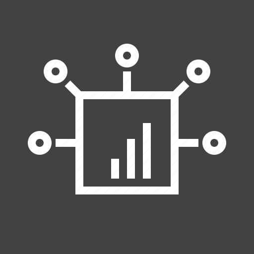 digital, graph, marketing, network, optimization icon