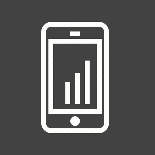 marketing, mobile, optimization, progress, statistics icon