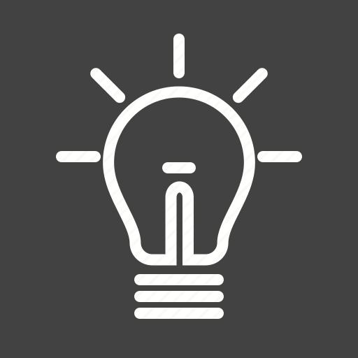advertising, bulb, led, light icon