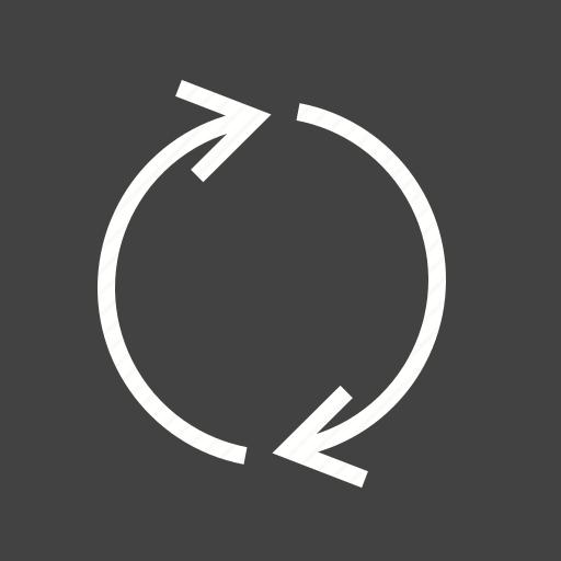 recycle, redo, refresh, synchronize icon