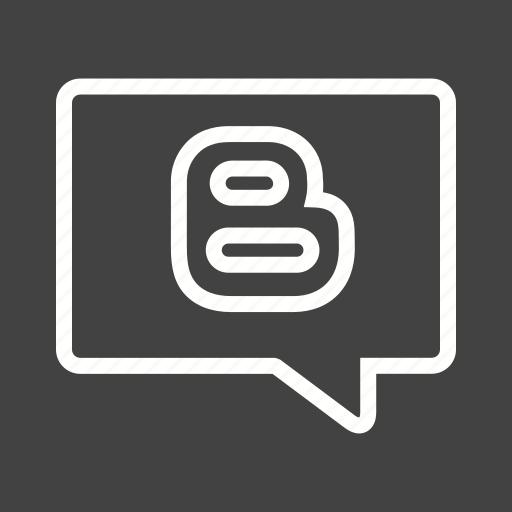 blogging, communication, ideas, of, sharing icon