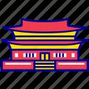 asian, changdeokgung, city, cityscape, landmark, seoul, travel icon