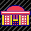 asian, city, cityscape, landmark, national assembly, seoul, travel icon