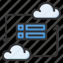database, cloud, cloud storage, computing