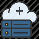 hybrid, server, storage, database, hosting, cloud
