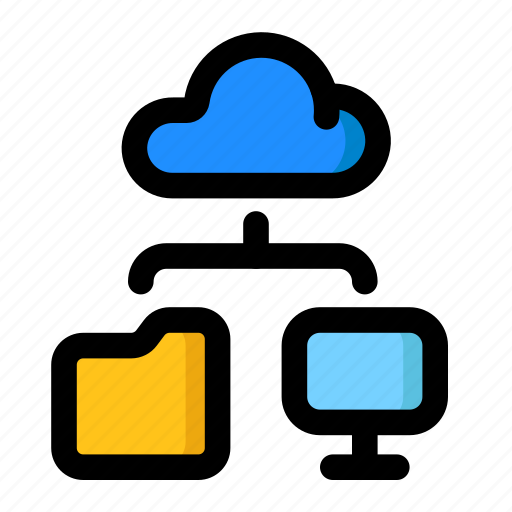 Cloud, infrastructure, network, pc, system icon - Download on Iconfinder