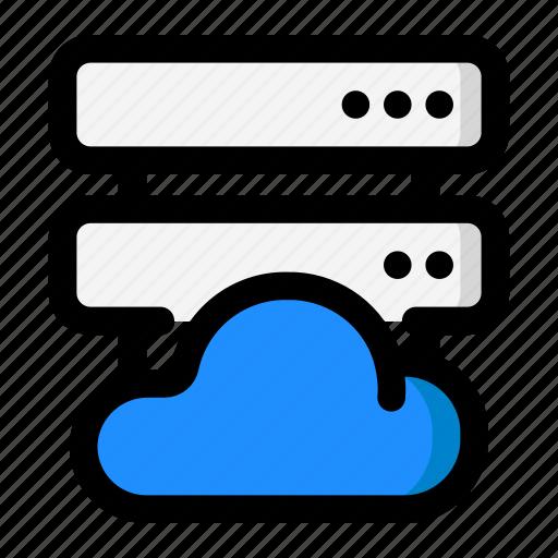 Cloud, database, hosting, network, server icon - Download on Iconfinder