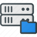 data, database, folder, server, storage icon