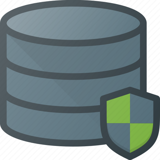 data, database, protect, security, server, storage icon