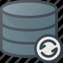 data, database, refresh, server, storage