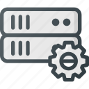 data, settings, storage, database, server