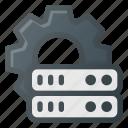 data, database, server, settings, storage