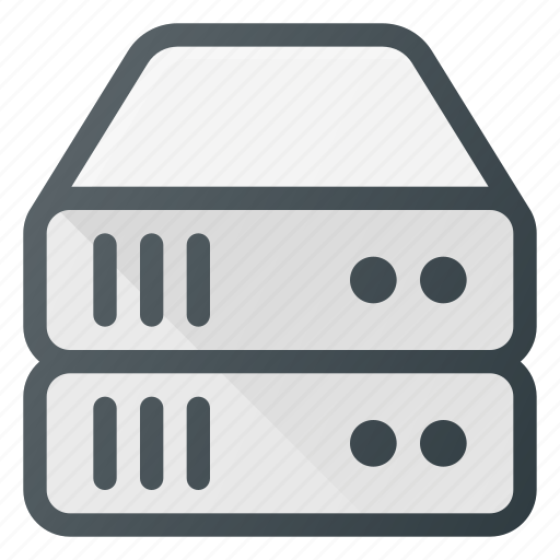 data, database, server, storage, tower icon