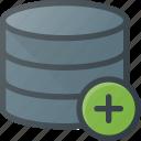 add, database, data, store, server